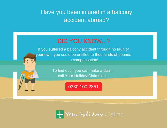 Balcony safety advice