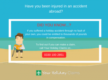 Can I make a claim for compensation if I am involved in an accident abroad?