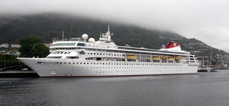 Suspected norovirus outbreak on board the Fred Olsen Braemar
