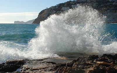 Coast near Bellevue Club in Majorca