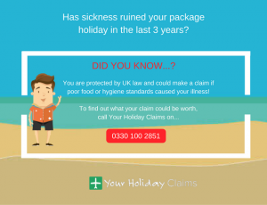 Make a sick on holiday claim today