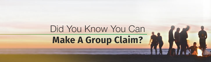 Did you know you can make a group claim?