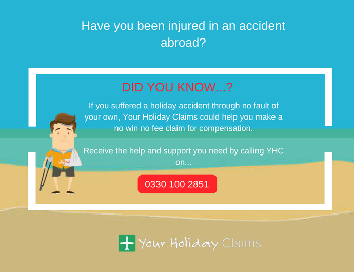 What to do if you have an accident abroad