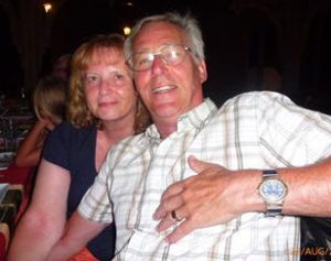 Brian and Pamela were both placed received medical treatment in the resort due to acute gastroenteritis.