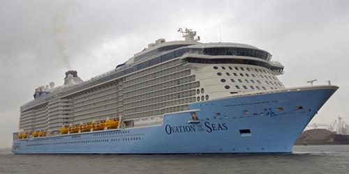No cheers for food poisoning on board Ovation of the Seas