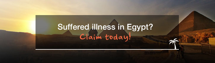 Suffered illness in Egypt? Claim today!