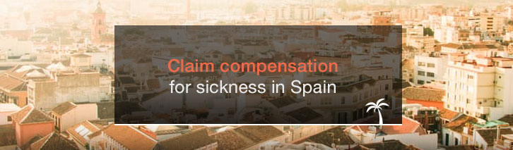Claim compensation for holiday sickness in Spain
