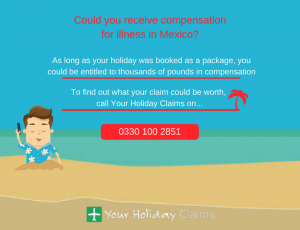 Claim compensation for illness in Mexico