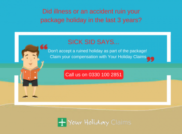 Package holidays and the right to claim holiday compensation