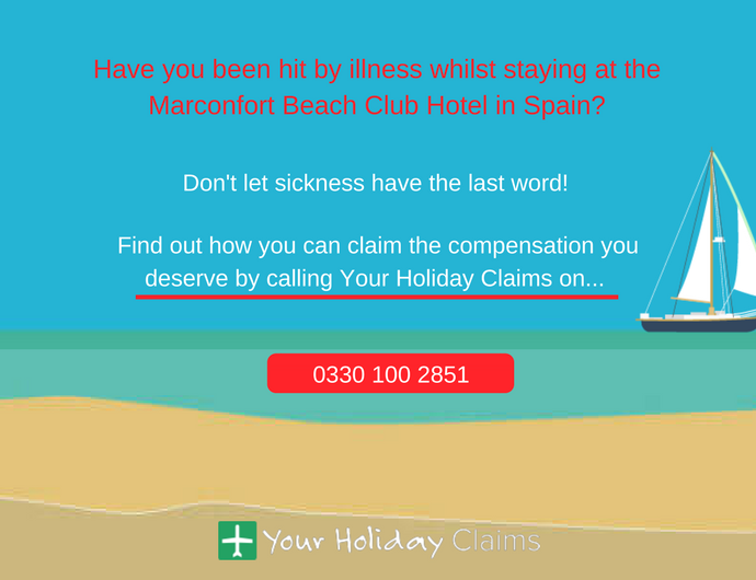"""Absolutely awful"": Yet more holidaymakers complain after suffering from sickness at the Marconfort Beach Club Hotel"