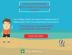 Fallen ill on holiday in Spain? Start your claim today!