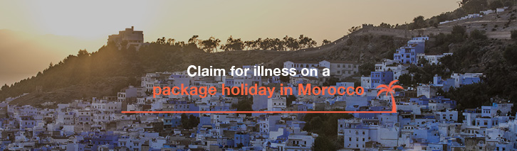 Claim for illness on a package holiday in Morocco