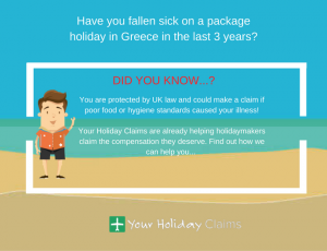 Fallen sick on holiday in Greece? Claim compensation today!