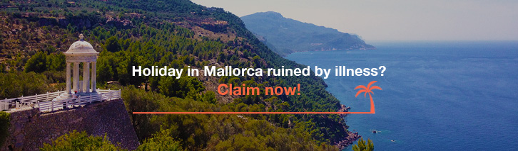 Holiday in Mallorca ruined by illness? Claim now!