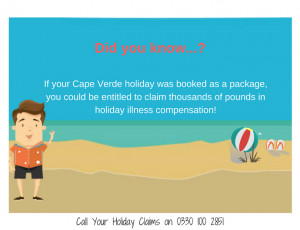 Package holiday Cape Verde illness