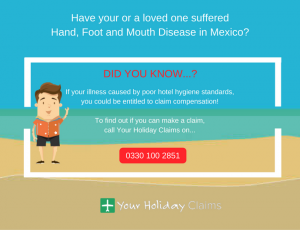Suffered hand, foot and mouth disease in Mexico_ Claim today!