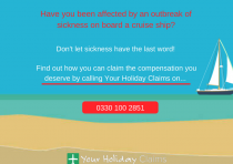 Make a cruise holiday compensation claim