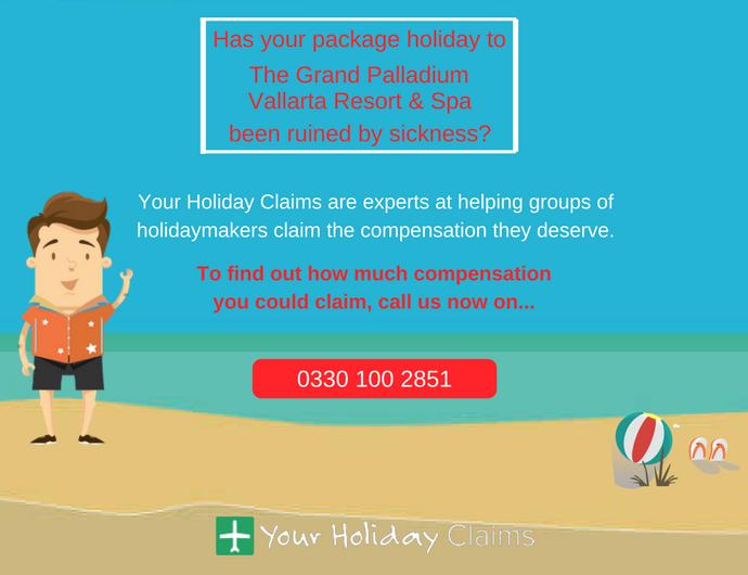 Montezumas revenge apparently ruins various holidays at the Grand Palladium Vallarta Resort & Spa