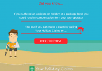 Bringing a holiday accident claim against the tour operator