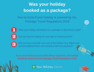 Are you protected by the package travel regulations 2018