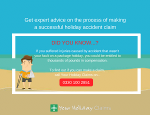 Get advice on the process of making successful holiday accident claim