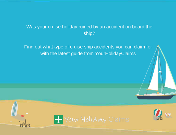 What type of cruise ship accidents can you claim for?