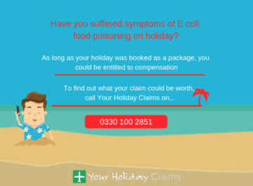 Claiming compensation for E coli on holiday in Egypt